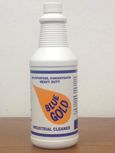 Blue Gold Cleaner and Degreaser Concentrate